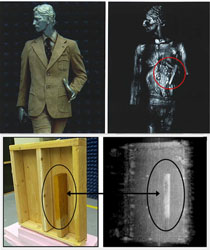 3-D Body Holographic (millimeter wave) Scanner